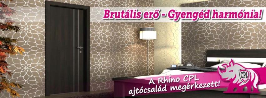 Brutális erő és gyengéd harmónia - a Rhino CPL beltéri ajtócsalád megérkezett!